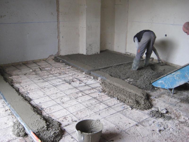 Reformas y construccion de viviendas rehabilitacion de for Nivelar suelo terraza sin obra