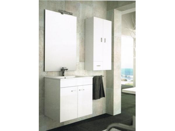 Accesorios Baño Color Wengue:Mueble de baño Salgar modelo Blanes 600