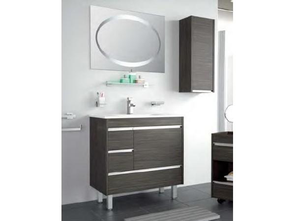 Griferia Para Baño Oval:Mueble de baño Salgar mod Iberia Levante 80 cm