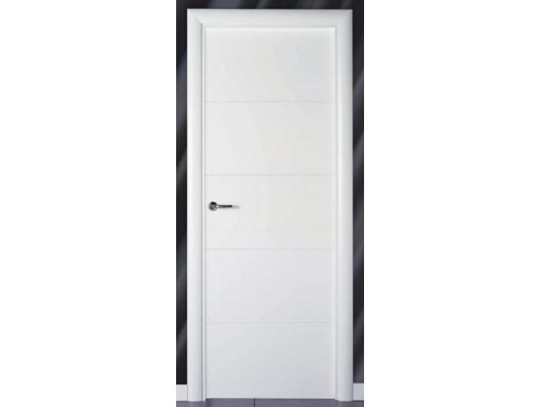 Puertas de madera valencia puertas de paso valencia - Puerta lacada en blanco ...
